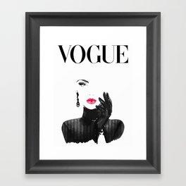 Vogue Framed Art Print