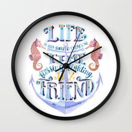 Life is Very Short Wall Clock