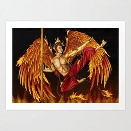 Pole Creatures - Phoenix Art Print