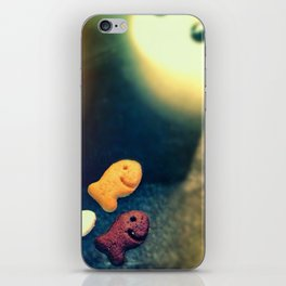 Swim towards the light little fishies. iPhone Skin