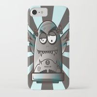 the fault iPhone & iPod Cases featuring Fault 45 03 (its not his fault) by Face Leakage