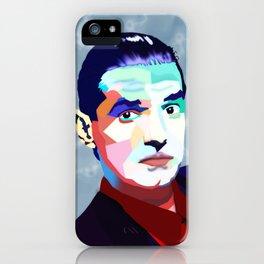 Portrait of Hans Holzel (Falco) iPhone Case