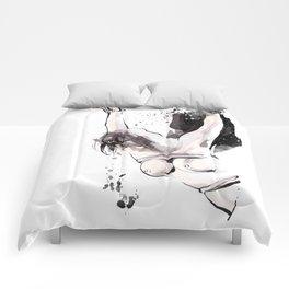 Shibari - Japanese BDSM Art Painting #15 Comforters