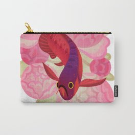 Arowana and peony 2 Carry-All Pouch
