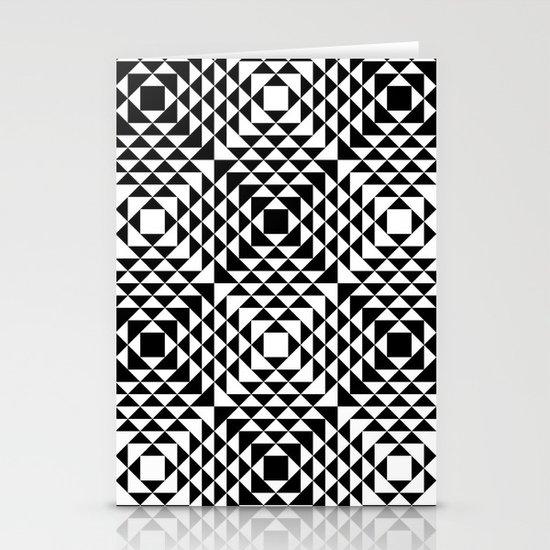 Geometric Tribal Stationery Cards