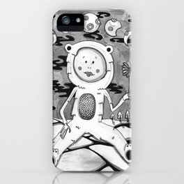 The art of giving iPhone Case