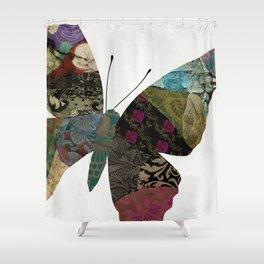 Butterfly Brocade II Shower Curtain