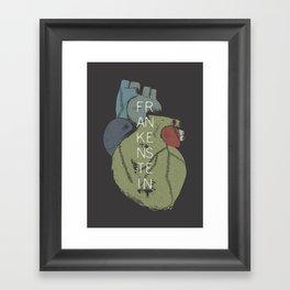 BOOKS COLLECTION: Frankenstein Framed Art Print