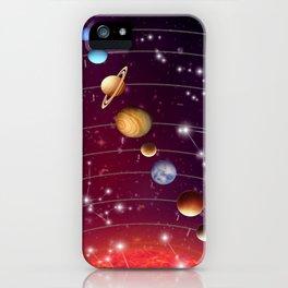 Planeten iPhone Case