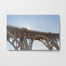 Route 66   Colorado Street Bridge   Pasadena Metal Print