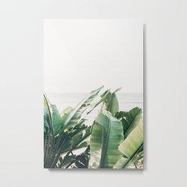 Pretty Palms Metal Print