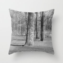 murderee Throw Pillow