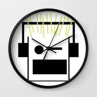 blondie Wall Clocks featuring Blondie by GPM Arts