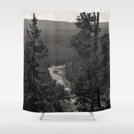 gibbon canyon Shower Curtain