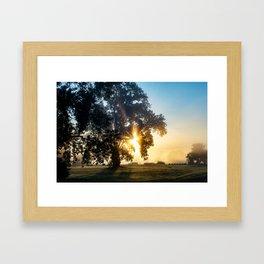 Beams of Hope  Framed Art Print