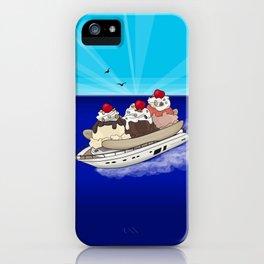 Banana Boat - Ice Cream Sundae Banana Split iPhone Case