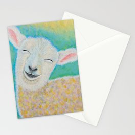 Happy Lamb Stationery Cards