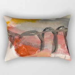 abstract painting XIII Rectangular Pillow
