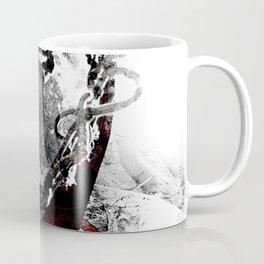Basketball art print swoosh vs 10 Coffee Mug
