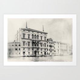 Venice - Study 283 Art Print