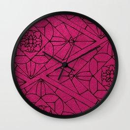 fashion tile Wall Clock