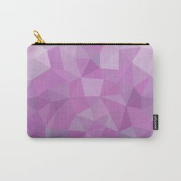 Ultraviolet Low Poly Carry-All Pouch