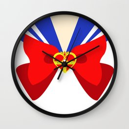 Sailor Moon Crowned Heart Wall Clock
