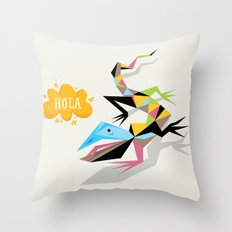 Hola Throw Pillow