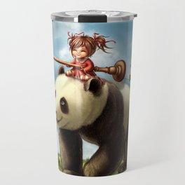 Panda Ride Travel Mug