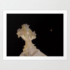 Shrouded in Darkness Art Print