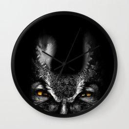 Peeking Owl Wall Clock