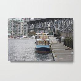 Granville Island Metal Print