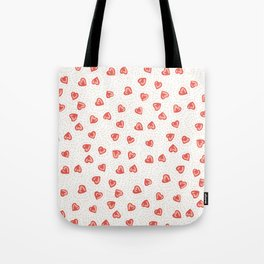 Sparkly hearts Tote Bag