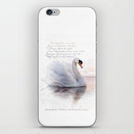 The Swan Princess iPhone Skin