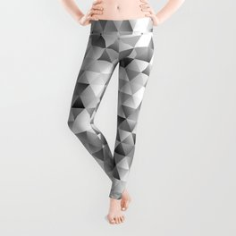 Grey triangle pattern Leggings