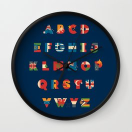 The Alflaget 3 Wall Clock