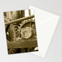 Heavy machinery Stationery Cards