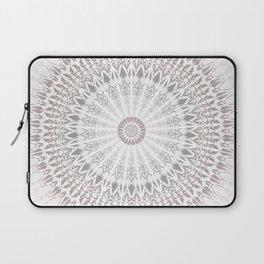 Taupe Mandala Laptop Sleeve