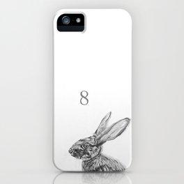 Rabbit eight iPhone Case