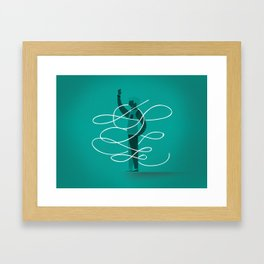 Composition 3 Framed Art Print