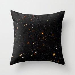 Beautiful Universe Ultraviolet Deepfield Galaxy Universe Star Map Throw Pillow