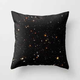 Beautiful Universe Ultraviolet Deepfield Galaxy Universe Star Map Throw Pillow