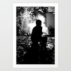 What Gets Lost In The Dark Art Print