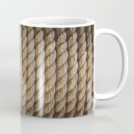 texture Ropes tether Coffee Mug