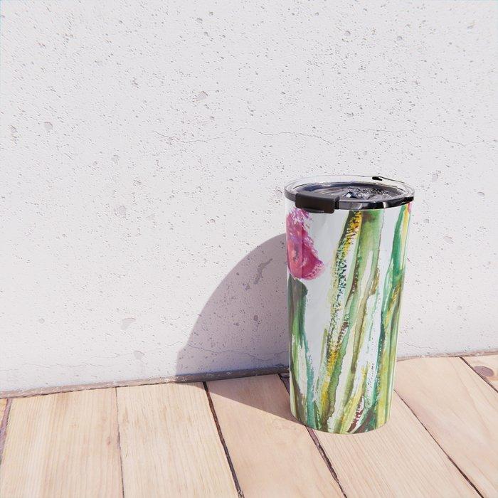 Crazy Cactus Travel Mug