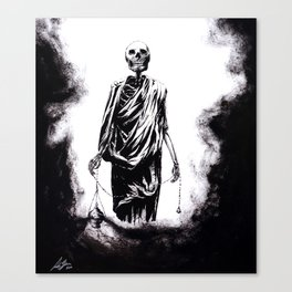 Welcoming Death Canvas Print