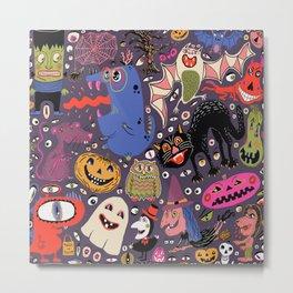 Yay for Halloween! Metal Print
