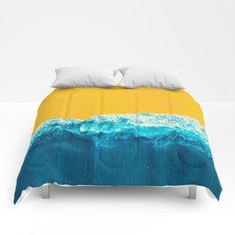 Yellow Tide Comforters