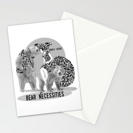 Bear Necessities #1 Bearly Secret Stationery Cards
