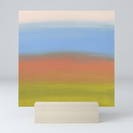 Abstracted Landscape Mini Art Print